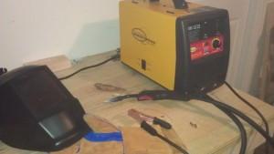 Welding setup