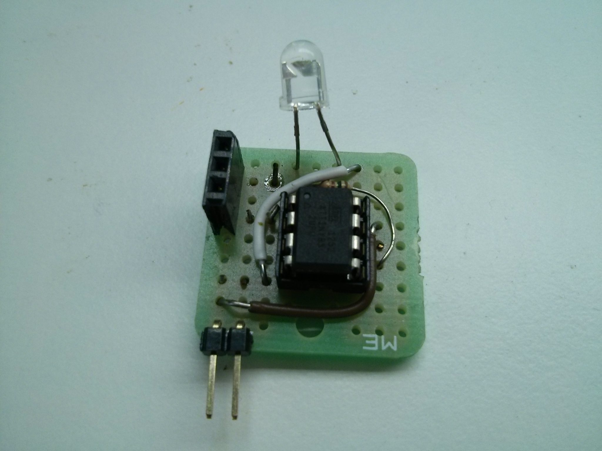 An Attiny85 Home Automation Ir Device Infrared Remote Switch Transmitter Circuit Talk About A Simple Board Its Led Resister And Some