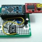 Here's how I program my ATTiny's! It's an arduino mini from sparkfun.